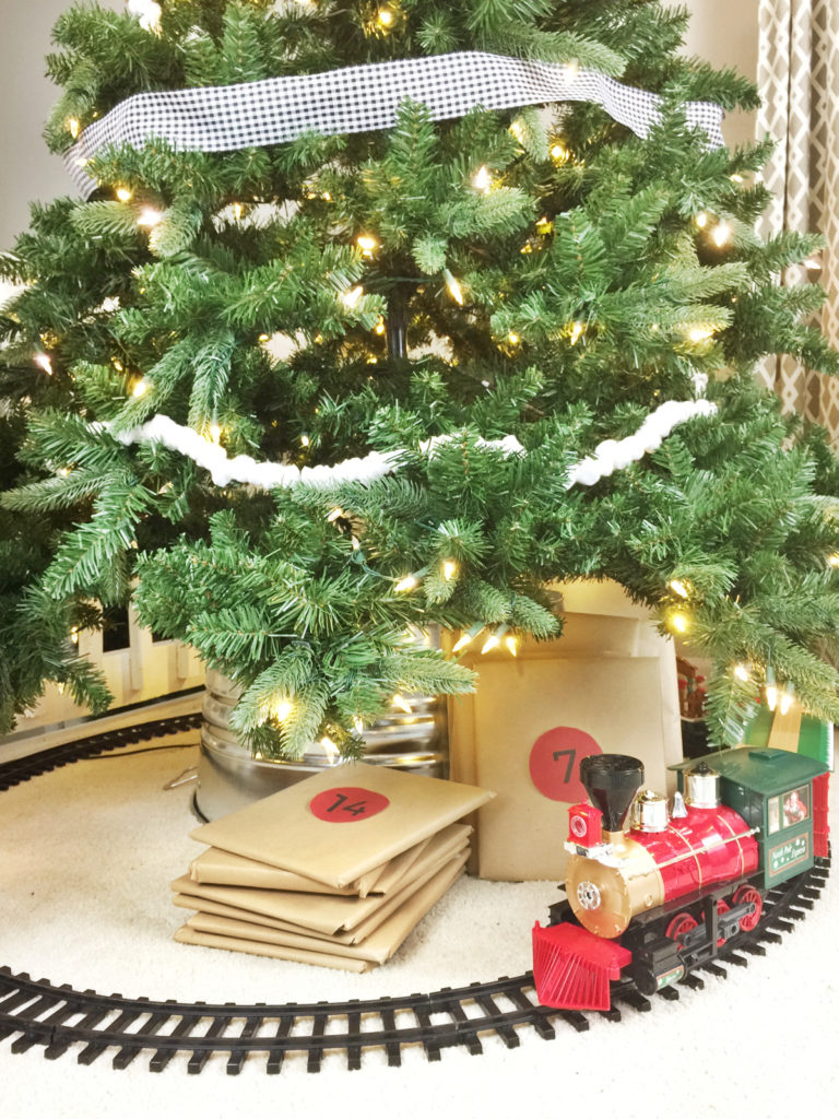 Diy Galvanized Christmas Tree Collar For 20 Birkley Lane Interiors