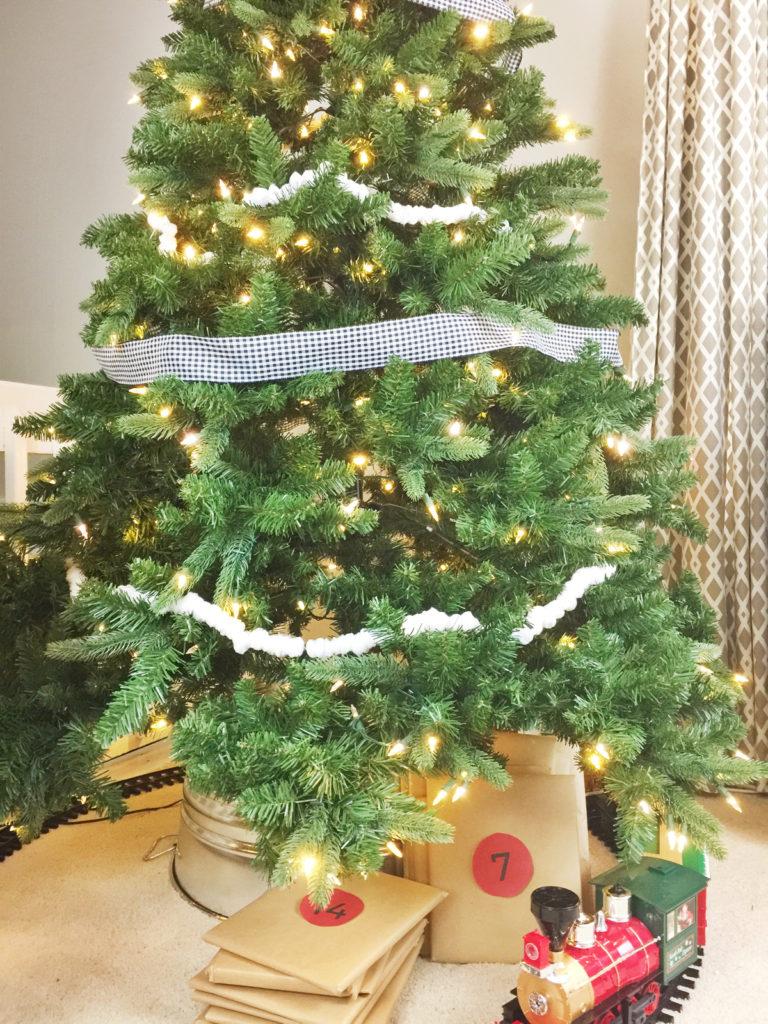 Simple Modern Farmhouse Christmas Tree Birkley Lane Interiors
