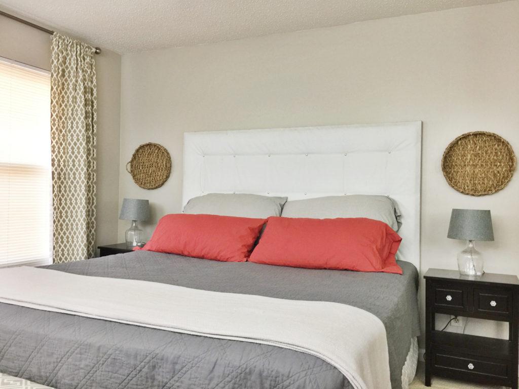 modern farmhouse bedroom  birkley lane interiors